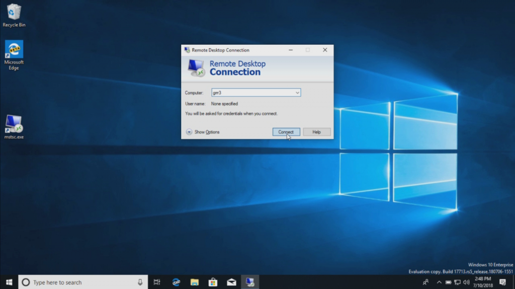 Windows 10 will support biometrics to log in to remote desktops •  Penetration Testing
