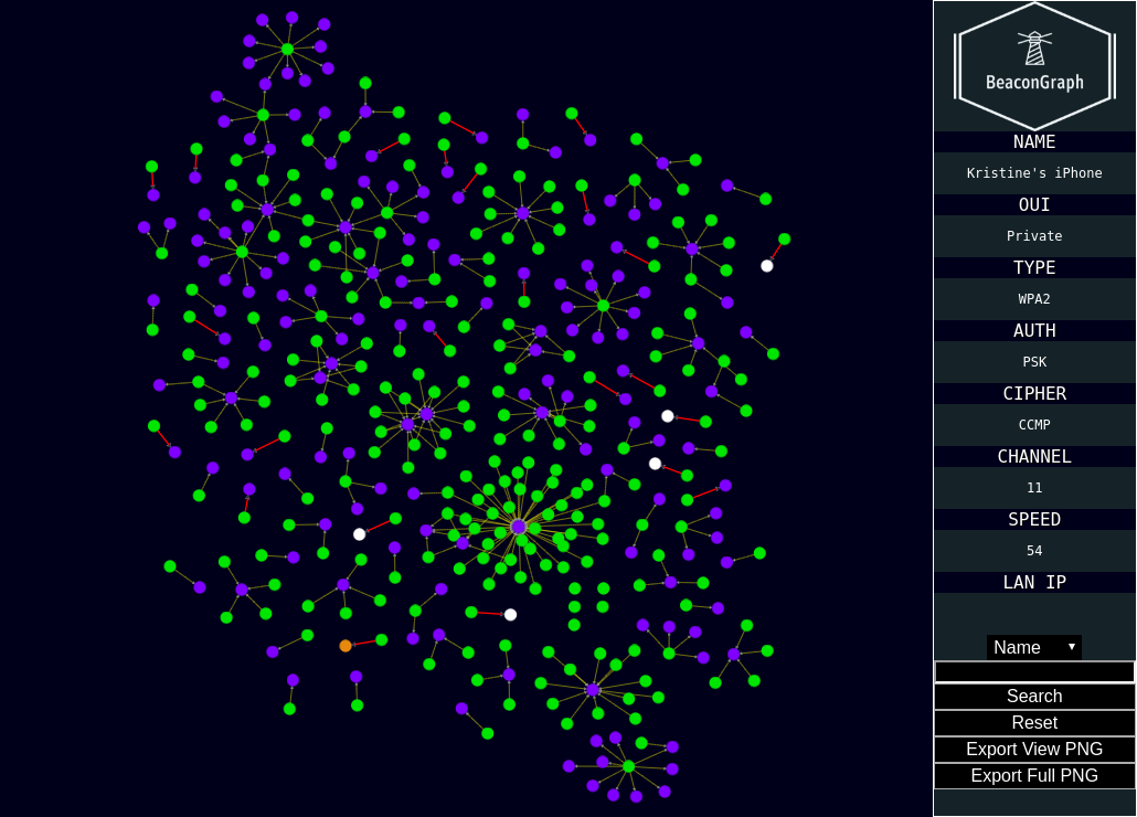 BeaconGraph V0.69 Releases: Graph Visualization Of